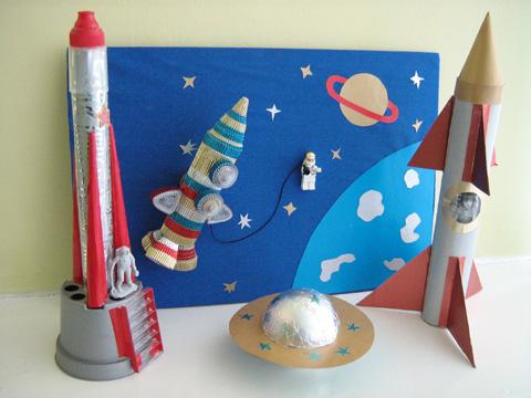 Макет космоса для детского сада своими руками